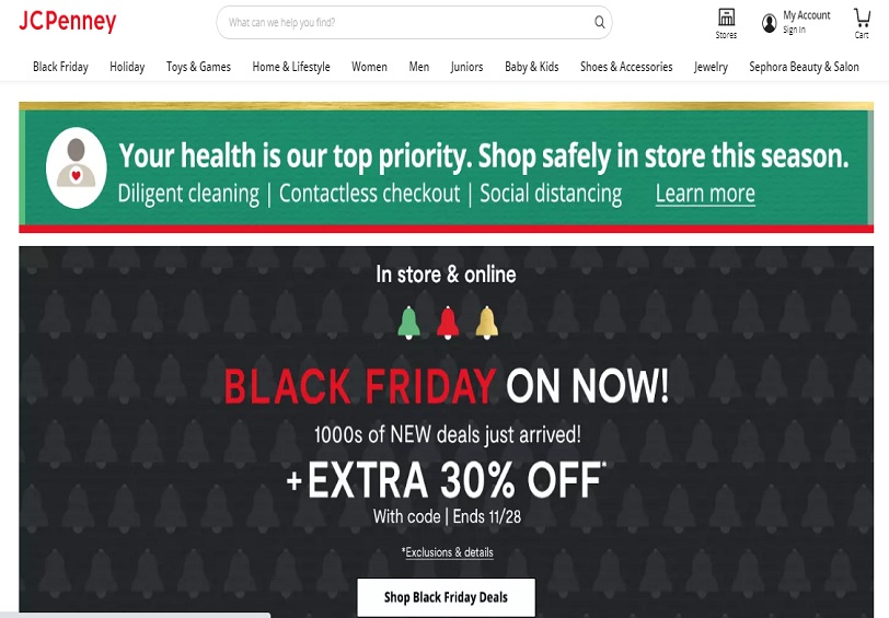 JCPenney Black Friday Offers